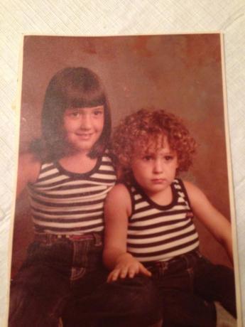 My sister Jen and I(LOL)